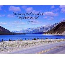 A Journey Photographic Print