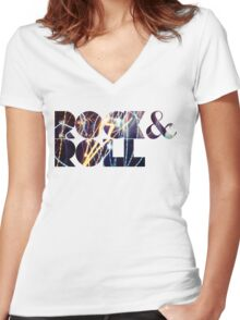 R & R Women's Fitted V-Neck T-Shirt