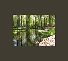 The Lake - Keukenhof Gardens, Holland Womens Fitted T-Shirt