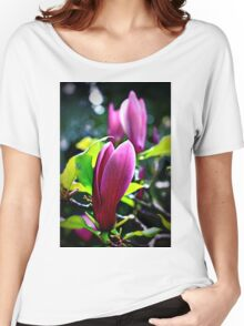Magnolia Blossoms Women's Relaxed Fit T-Shirt