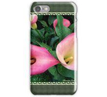 Beautiful, Simple, Colorful Callas iPhone Case/Skin