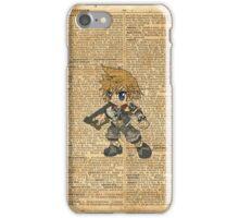 Kingdom Hearts - Roxas Dictionary iPhone Case/Skin