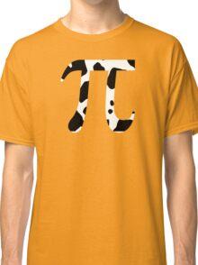 Cow Pi Funny Geek Nerd Classic T-Shirt