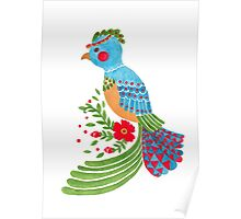 The Blue Quetzal Poster
