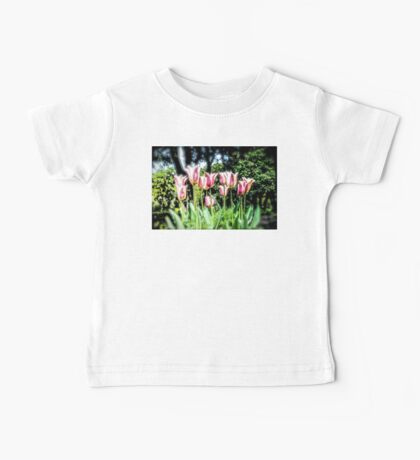 Spring Tulips Baby Tee