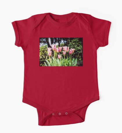 Spring Tulips One Piece - Short Sleeve