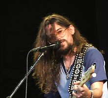 SHOOTER JENNINGS IN CARBONDALE, IL STAGE PORTRAIT by wesbennett100