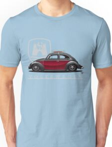 Black and Red Beetle Unisex T-Shirt