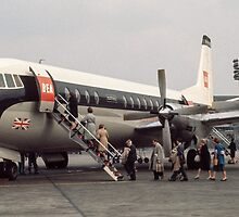 Vanguard at Orly airport 196104190179 by Fred Mitchell