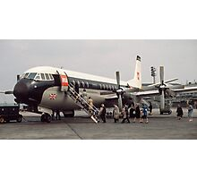 Vanguard at Orly airport 196104190179 Photographic Print