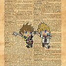 Kingdom Hearts - Roxas & Sora Friends Dictionary by Aaron Campbell