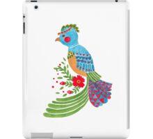 The Blue Quetzal iPad Case/Skin