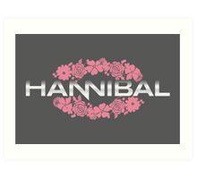 Hannibal Flower Crown Art Print