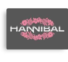Hannibal Flower Crown Canvas Print