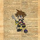 Kingdom Hearts - Sora Dictionary by Aaron Campbell