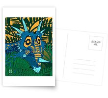 Styracosaurus Jungle Greeting Card