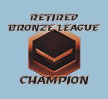 Retired Bronze League Champion One Piece - Short Sleeve