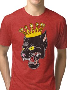 King of the Panthers Tri-blend T-Shirt