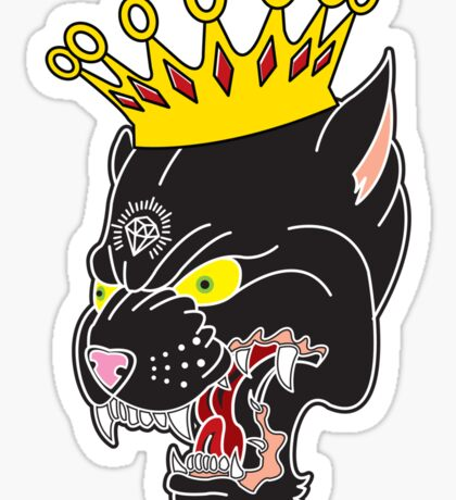 King of the Panthers Sticker