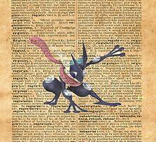 Super Smash - Greninja Dictionary by Aaron Campbell