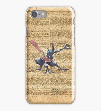 Super Smash - Greninja Dictionary iPhone Case/Skin