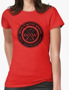 Weasley Wizard Wheezes Logo Womens Fitted T-Shirt