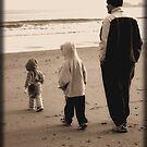 Beach Visit in the Winter by Stacey Dionne