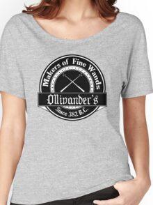 Ollivander's Wand Shop Logo Women's Relaxed Fit T-Shirt