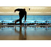 At the Bowling Ball Photographic Print