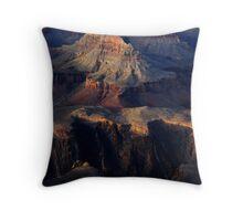 Grand Canyon Light Throw Pillow