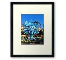 Frozen Fun Framed Print