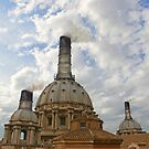 Smoke on Vatican by Daniele Lunghini