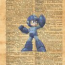 Super Smash - Mega man Dictionary by Aaron Campbell