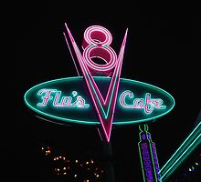 Flo's V8 Cafe by stussyjoseph