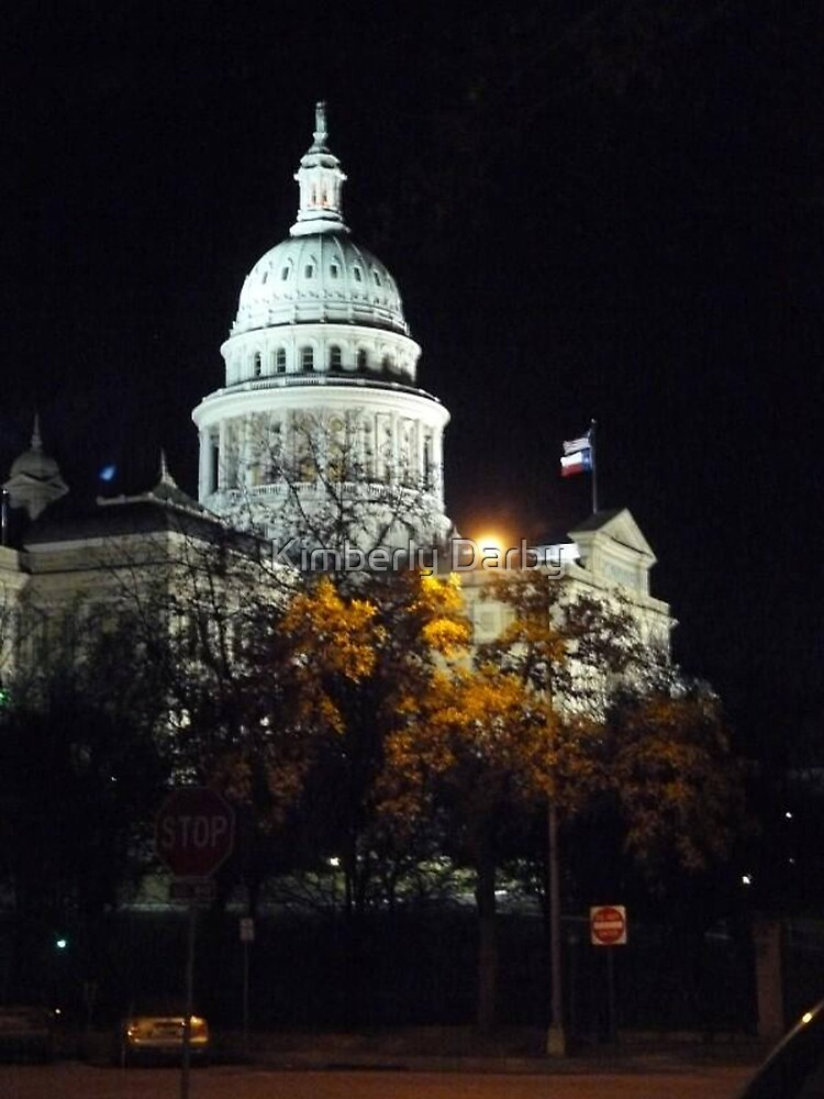 Capital In Austin Texas  by Kimberly Darby