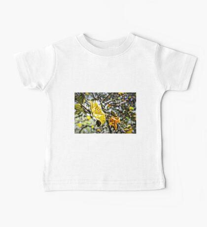 Yellow Flowers Baby Tee