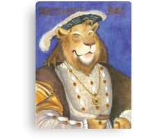 The King of Beasts  Canvas Print