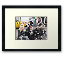 Hair Metal in the New Millenium Framed Print