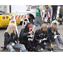 Hair Metal in the New Millenium Photographic Print