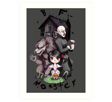 BF Monster Art Print