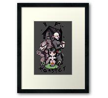 BF Monster Framed Print