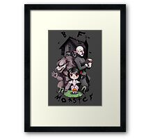 BF Monster Framed Print