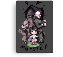 BF Monster Canvas Print