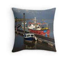Wells-Next-The-Sea, Norfolk Throw Pillow