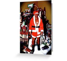 The Colors of Santa Greeting Card