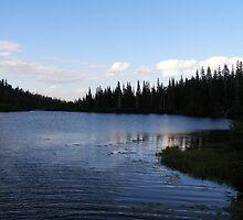 Nightfall on the Lake by MistyDawn