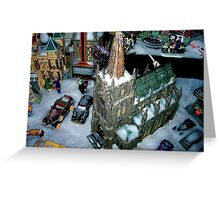 Snowfield Village Greeting Card