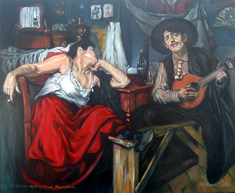 Fado After Jose Malhoa  by Hidemi Tada