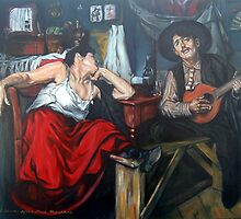 Fado After Jose Malhoa  by Hidemi Tada