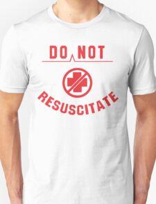 Do Not Resuscitate Funny Geek Nerd Unisex T-Shirt